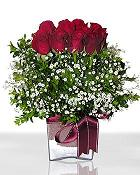 Samsun anneler günü çiçek yolla  11 adet gül mika yada cam - anneler günü seçimi -