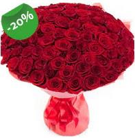 Özel mi Özel buket 101 adet kırmızı gül  Samsun çiçekçi telefonları
