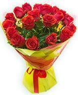 19 Adet kırmızı gül buketi  Samsun online çiçekçi , çiçek siparişi