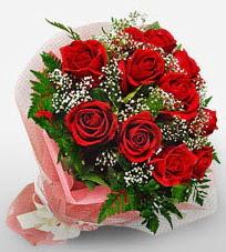 12 adet kırmızı güllerden kaliteli gül  Samsun online çiçekçi , çiçek siparişi
