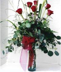 Samsun çiçek mağazası , çiçekçi adresleri  7 adet gül özel bir tanzim