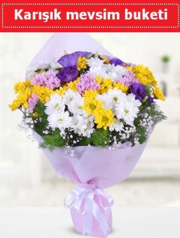 Karışık Kır Çiçeği Buketi  Samsun çiçek siparişi sitesi