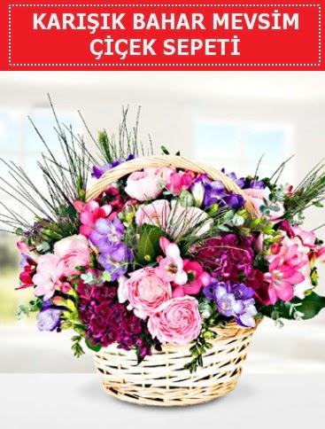 Karışık mevsim bahar çiçekleri  Samsun hediye sevgilime hediye çiçek