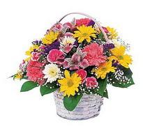 Samsun anneler günü çiçek yolla  mevsim çiçekleri sepeti özel