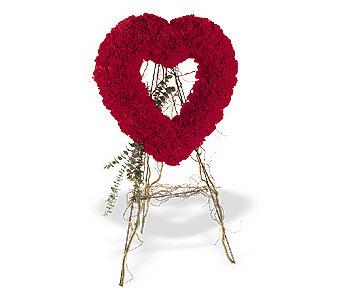Samsun kaliteli taze ve ucuz çiçekler  karanfillerden kalp pano