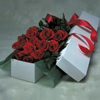 Samsun çiçek yolla , çiçek gönder , çiçekçi   11 adet gülden kutu