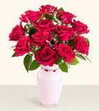 Samsun çiçek online çiçek siparişi  10 kirmizi gül cam yada mika vazo tanzim