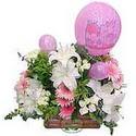 balon ve çiçeklerle tanzim  Samsun kaliteli taze ve ucuz çiçekler