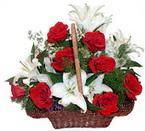 sepette gül ve kazablankalar   Samsun çiçek servisi , çiçekçi adresleri