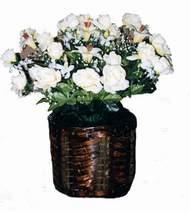 yapay karisik çiçek sepeti   Samsun İnternetten çiçek siparişi