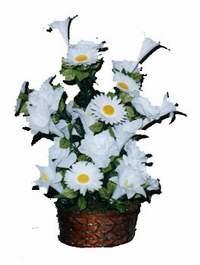 yapay karisik çiçek sepeti  Samsun online çiçekçi , çiçek siparişi