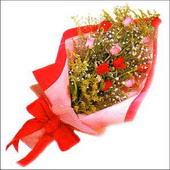 12 adet renkli  gül buketi   Samsun çiçek servisi , çiçekçi adresleri