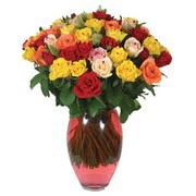 51 adet gül ve kaliteli vazo   Samsun online çiçek gönderme sipariş