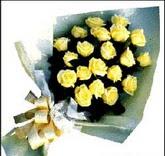 sari güllerden sade buket  Samsun anneler günü çiçek yolla