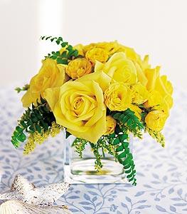 Samsun çiçek gönderme sitemiz güvenlidir  cam içerisinde 12 adet sari gül