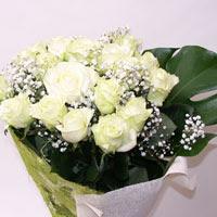 Samsun çiçek online çiçek siparişi  11 adet sade beyaz gül buketi