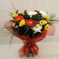 Samsun çiçek online çiçek siparişi  Karisik mevsim demeti
