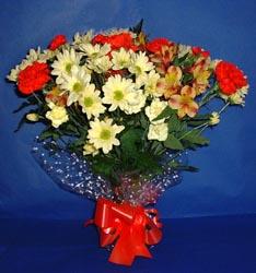 Samsun çiçek online çiçek siparişi  kir çiçekleri buketi mevsim demeti halinde