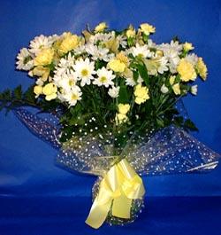 Samsun çiçek online çiçek siparişi  sade mevsim demeti buketi sade ve özel