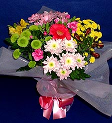 Samsun çiçek online çiçek siparişi  küçük karisik mevsim demeti