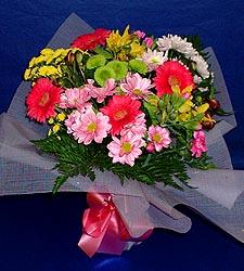 karisik sade mevsim demetligi   Samsun çiçek gönderme