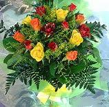 13 adet karisik gül buketi demeti   Samsun çiçek yolla