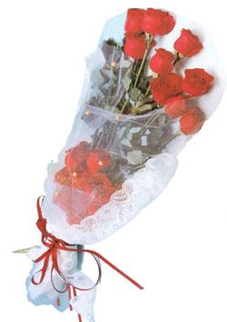 11 adet kirmizi güller buket tanzimi   Samsun çiçek mağazası , çiçekçi adresleri