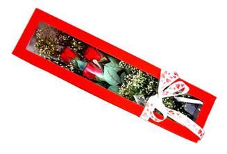 Samsun çiçek online çiçek siparişi  Kutuda 3 adet gül