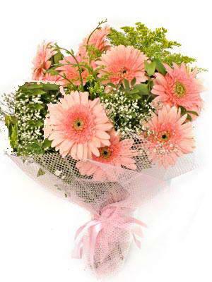 Samsun 14 şubat sevgililer günü çiçek  11 adet gerbera çiçegi buketi