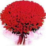 Samsun çiçekçiler  1001 adet kirmizi gülden çiçek tanzimi