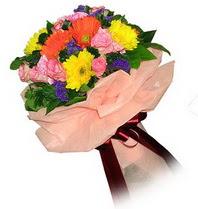 Samsun çiçek servisi , çiçekçi adresleri  Karisik mevsim çiçeklerinden demet