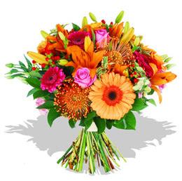 Samsun uluslararası çiçek gönderme  Karisik kir çiçeklerinden görsel demet