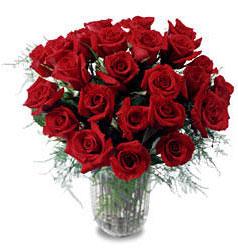 Samsun online çiçek gönderme sipariş  11 adet kirmizi gül cam yada mika vazo içerisinde