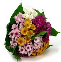 Samsun uluslararası çiçek gönderme  Karisik kir çiçekleri demeti herkeze