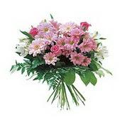 karisik kir çiçek demeti  Samsun 14 şubat sevgililer günü çiçek