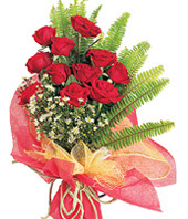 11 adet kaliteli görsel kirmizi gül  Samsun 14 şubat sevgililer günü çiçek