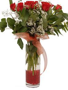 9 gül sevdiklerinize  Samsun 14 şubat sevgililer günü çiçek