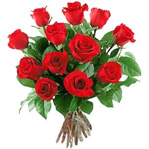 11 adet bakara kirmizi gül buketi  Samsun çiçek siparişi sitesi