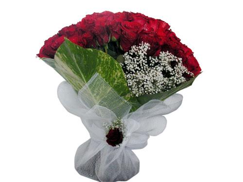 25 adet kirmizi gül görsel çiçek modeli  Samsun ucuz çiçek gönder