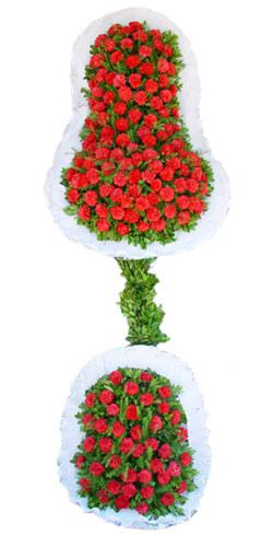 Dügün nikah açilis çiçekleri sepet modeli  Samsun İnternetten çiçek siparişi