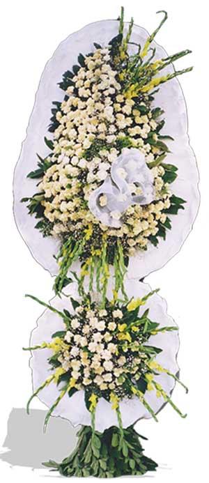Dügün nikah açilis çiçekleri sepet modeli  Samsun online çiçek gönderme sipariş