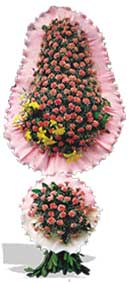 Dügün nikah açilis çiçekleri sepet modeli  Samsun uluslararası çiçek gönderme