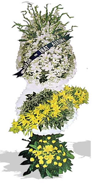 Dügün nikah açilis çiçekleri sepet modeli  Samsun anneler günü çiçek yolla