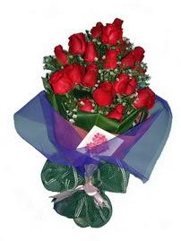 12 adet kirmizi gül buketi  Samsun çiçek yolla , çiçek gönder , çiçekçi