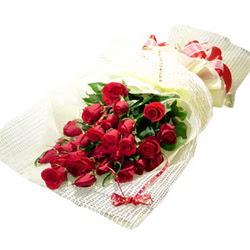 Çiçek gönderme 13 adet kirmizi gül buketi  Samsun 14 şubat sevgililer günü çiçek