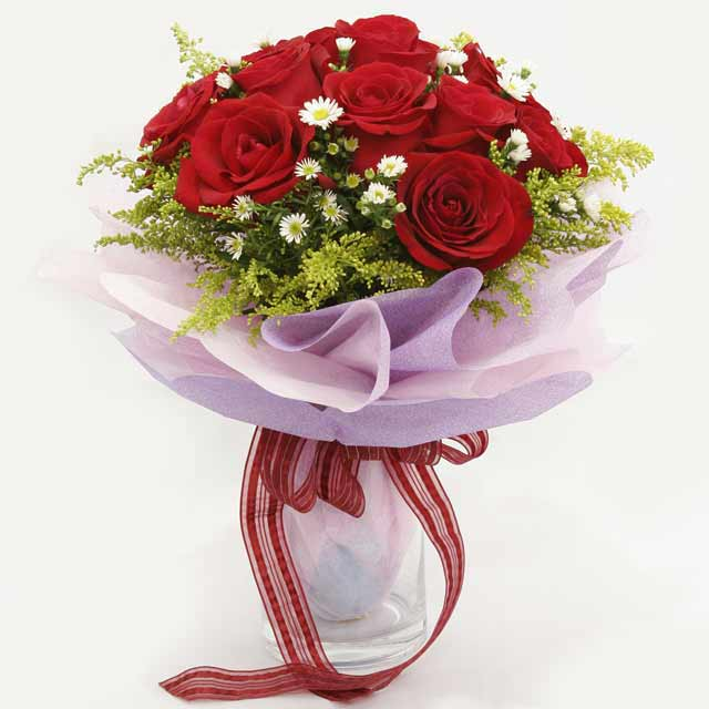 Çiçek gönderme estetikliginiz 11 gül buket  Samsun çiçek servisi , çiçekçi adresleri