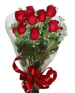 Çiçek sade gül buketi 7 güllü buket  Samsun çiçek yolla , çiçek gönder , çiçekçi