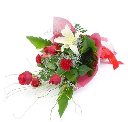 Mevsim çiçeklerinden karisik buket  Samsun İnternetten çiçek siparişi