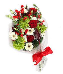 Karisik mevsim buketi çiçek tanzimi  Samsun yurtiçi ve yurtdışı çiçek siparişi
