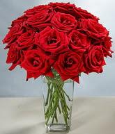 Samsun çiçek servisi , çiçekçi adresleri  cam vazoda 11 kirmizi gül  Samsun çiçek satışı